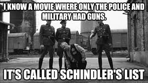 Military Police Meme - i know a movie where only the police and military had guns it s