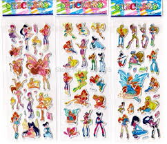 winx club stickers photos winx club children stickers classic