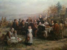 the pilgrims first thanksgiving the double pull of the first thanksgiving jack t scully