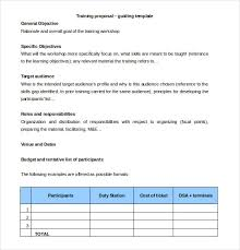 free proposal template free download formal business proposal