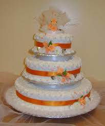 the 25 best orange small wedding cakes ideas on pinterest