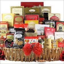 holiday munchies gourmet holiday christmas gift basket