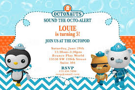 octonauts party supplies octonauts birthday invitation diy digital by modpoddesigns 12 00