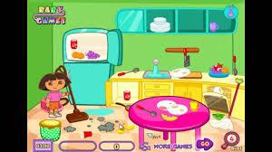 dora room clean game dora online game clean kids game cartoon