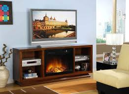fireplace fashionable electric fireplace tv stands for home