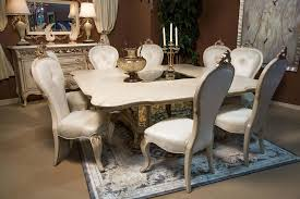 11 piece platine de royale square dining set in champagne u2022 usa