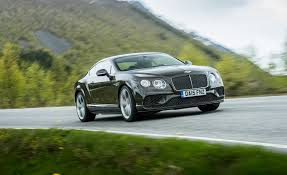 bentley front 2016 bentley continental gt speed test front and side view 8183