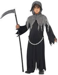 Grim Reaper Halloween Costume Children U0027 Halloween Fancy Dress