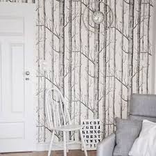 cole u0026 son woods wallpaper birch tree branches famous