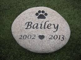 grave marker dog memorial cat memorial pet grave marker engraved river