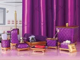Lavender Bathroom Set Compact Purple Bathroom Set 148 Purple Bath Mat Sets White Purple