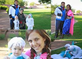 frozen family halloween costumes our kerrazy adventure family halloween costumes