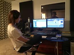 studio keyboard desk keyboard acoustic guitar and i got to play engineer