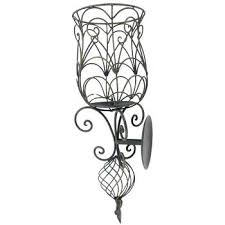 Nickel Candle Wall Sconce Metal Candle Wall Sconce U2013 Slwlaw Co