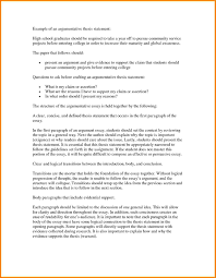 Example Essay Argumentative Writing What Is A Thesis Statement In An Essay Examples Essay Research