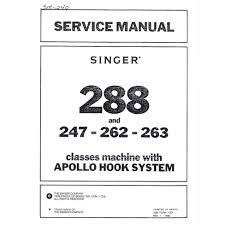 service manual singer 288 sewing parts online