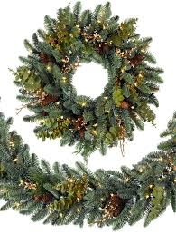 christmas garland with lights granstrom evergreens l l c for evergreen garland christmas soia biz