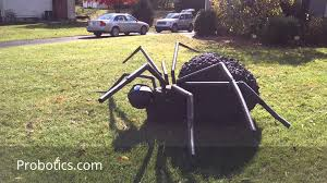 giant robotic halloween lawn spider youtube
