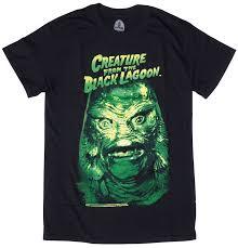 Creature Black Lagoon Halloween Costume Rock Rebel Creature Black Lagoon Head Shirt Sourpuss