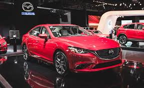 mazda car and driver view 2016 mazda 6 premieres with fancy new cabin and subtly tailored