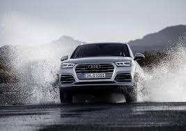 Audi Q5 8 Speed Tiptronic - 2017 audi q5 shows off roading skills gets air suspension video