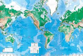 Peters Projection Map World Dma Mural 8 Sheet Wallpaper Buy Super Sized World Wall Map