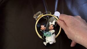 disney parks mickey and minnie mouse wedding ring ornament