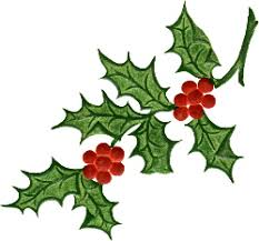 christmas holly clipart clip art library