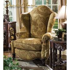 High Back Wing Chairs For Living Room 1 579 00 Essex Manor High Back Wing Chair By Michael Amini D2d