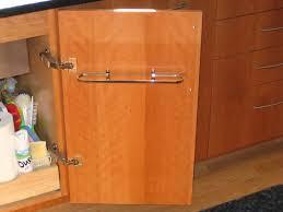 Kitchen Towel Racks For Cabinets Kitchen Towel Bar Under Sink Kutsko Kitchen
