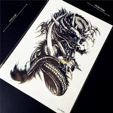 popular dragon tattoo art buy cheap dragon tattoo art lots from