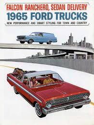 Old Ford Truck Brochures - 2nd generation ford ranchero the falcon ranchero 1960 1965