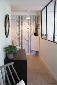entree en cuisine cuisine ouverture et verrière intérieure contemporain entrée