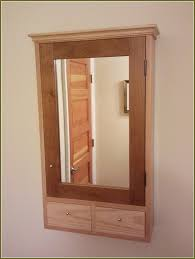 Wood Bathroom Medicine Cabinets With Mirrors Furniture For Rustic Bathroom Decoration Using Rustic Solid Wood