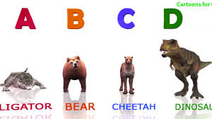 3d animals alphabets a z song learning abc songs with animal