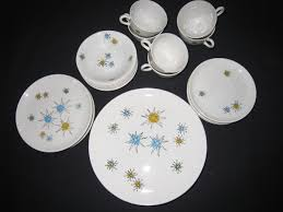 franciscan dishes vintage franciscan starburst dinnerware collectors weekly
