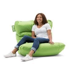 big joe roma bean bag chair black home chair decoration