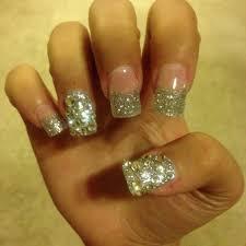 acrylic nails designs glitter nail designs nail design glitter