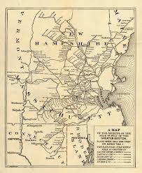 road map massachusetts usa massachusetts maps perry castañeda map collection ut library