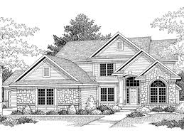 traditional 2 story house plans cozette two story home plan 051d 0309 house plans and more