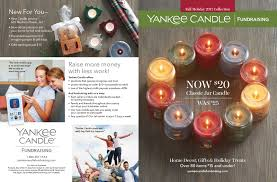 yankee candle fundraising catalog 2017 candles ideas
