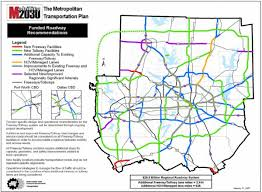 Fort Worth Map Dallas Tollway Map Dallas Toll Roads Map Texas Usa