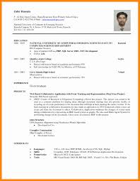 student resume sle gallery of resume sle for fresh graduate student resume cover