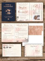 wedding invitations destination destination wedding invitations passport destination wedding