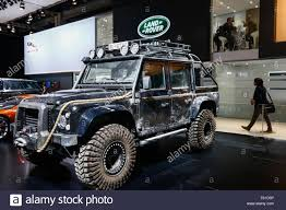 land rover defender vector dubai united arab emirates 10th nov 2015 a land rover defender