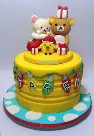 rilakkuma cake and cupcakes t412 characters u003e sanrio