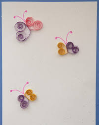 quilled cards activity education
