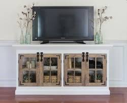 Tv Media Cabinets With Doors 9 Free Tv Stand Plans You Can Diy Right Now