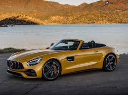 photos of cars amg gt c roadster