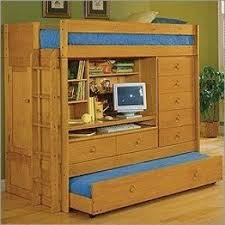 Nice Twin Loft Bed With Desk And Dresser Trundle Bunk Beds With - Trundle bunk bed with desk
